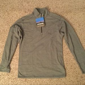 PATAGONIA K's MICRO FLEECE 1/2 ZIP NECK JACKET NWT